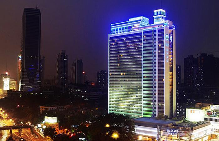 建筑大师莫伯治设计作品-广州白云宾馆