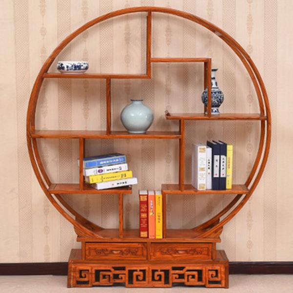 明清仿古家具实木榆木中式古典博古架--网店展示-古建中国