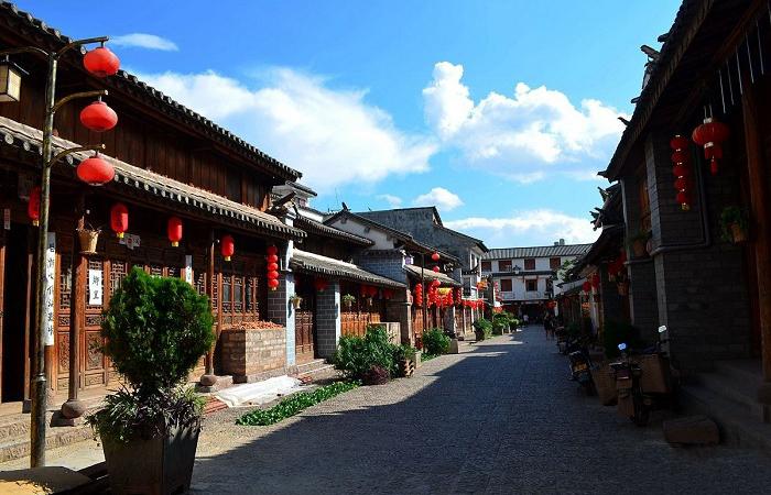 姚安光禄古镇——中国第一个福文化古镇