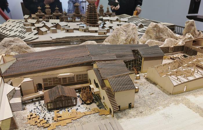 """广州设计周""""老宅新生,乡情营造""""会客厅里的古建模型是我们做的!"""
