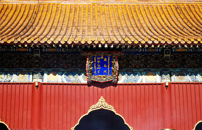 北京雍和宫:清朝中后期全国规格最高的一座佛教寺院