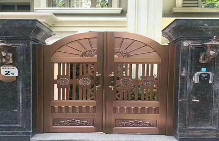 客户案例-工程案例-铜门2