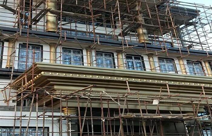 客户案例-工程案例-铜墙花1