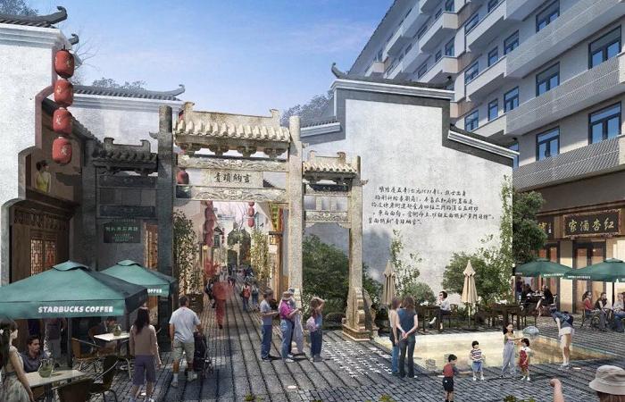 安庆倒扒狮历史文化街区元旦正式开放
