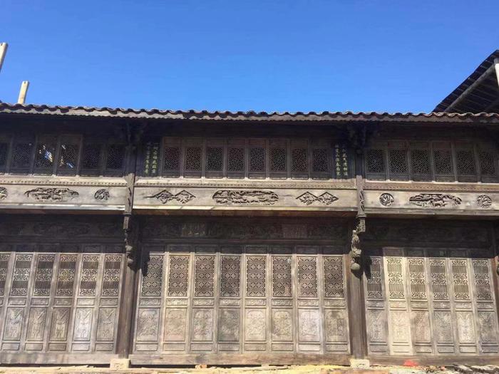 出售_清中年间古宅,占地面积240平方,已修复完整