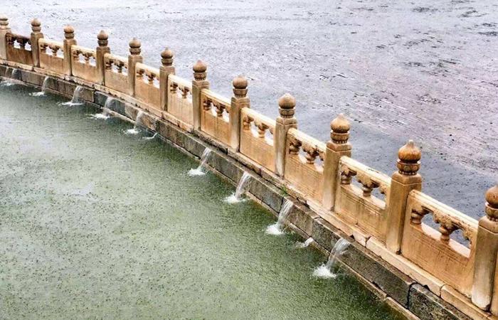 中国古建筑中的排水系统,彰显工匠精神!