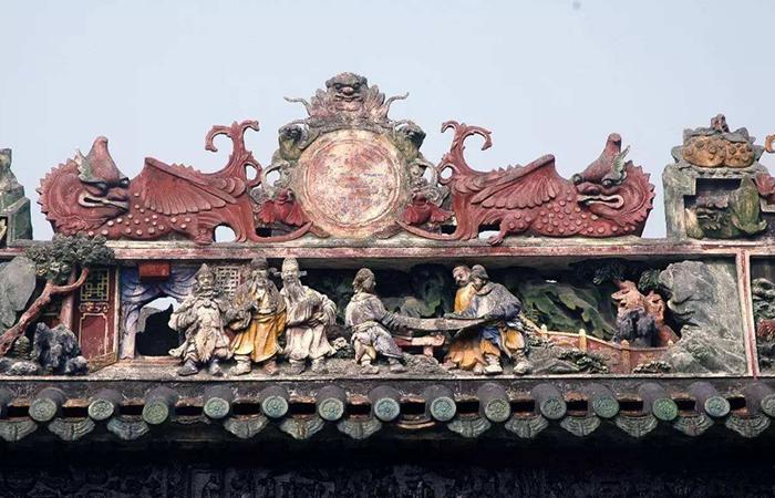 中国传统工艺灰塑的发展历程以及艺术特点