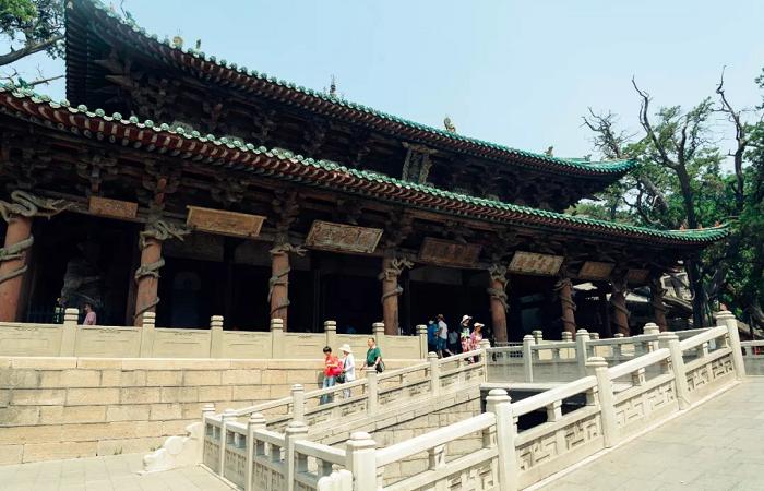 晋祠圣母殿——北宋建筑的代表作