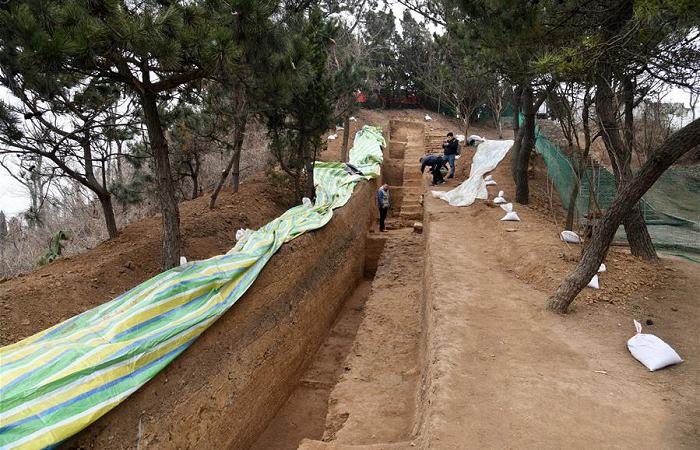 山东琅琊台考古发掘出秦汉时期排水系统
