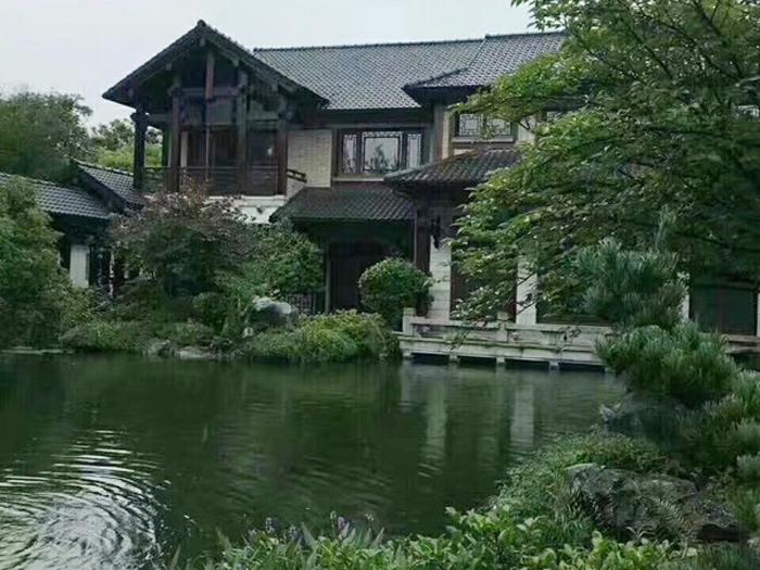 杭州绿城桃花源中式别墅出售