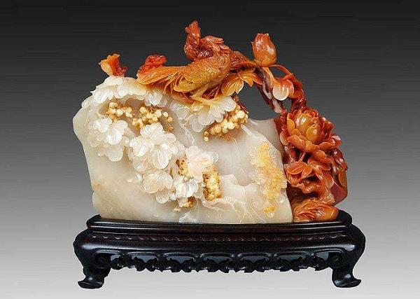 寿山石雕摆件