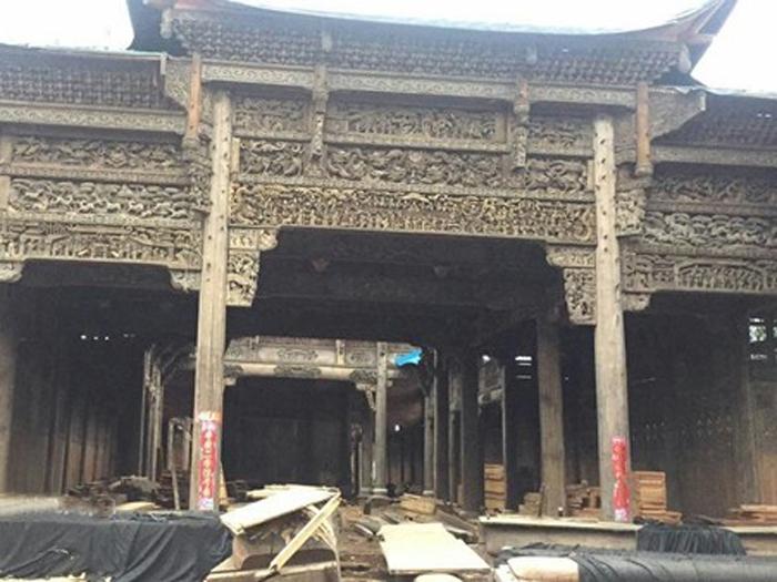 江西景德镇古镇1500方老宅子出售