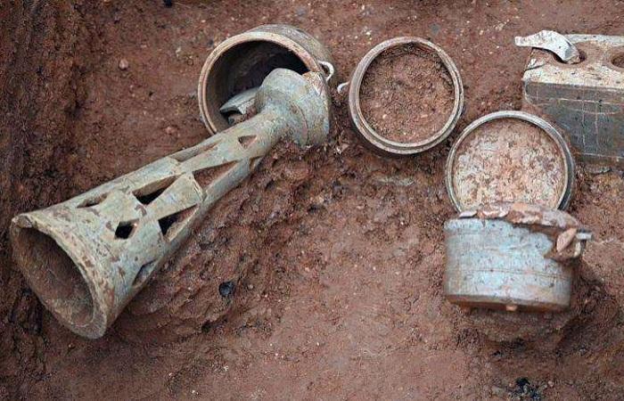 广州发掘57座汉至清代墓葬 出土文物近500件