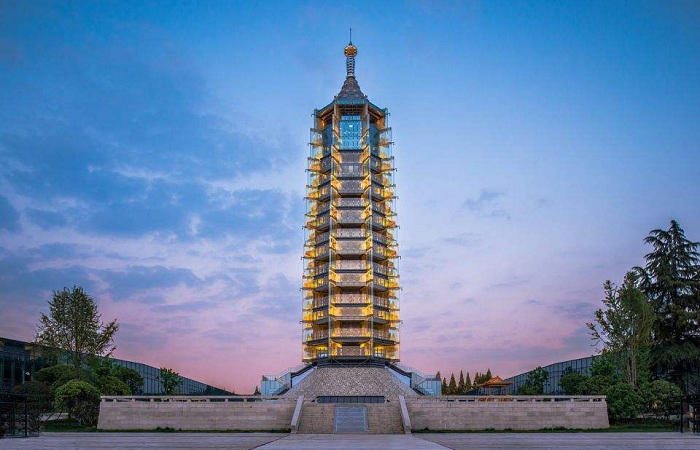 南京大报恩寺琉璃宝塔的前世今生