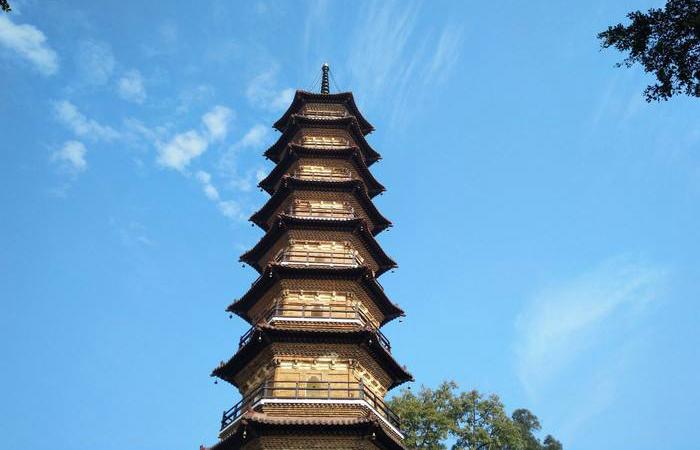 三影塔——南雄千年古塔