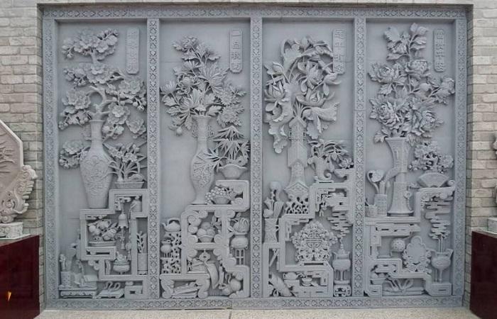 """甘肃临夏砖雕工艺者趋老龄化 官方冀产业化""""解危"""""""