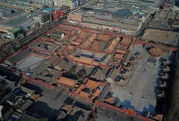 沈阳故宫平面图