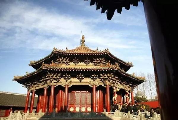 沈阳故宫大政殿