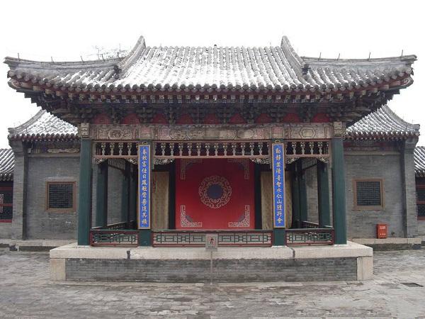 沈阳故宫皇家戏台