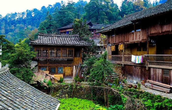 郎德上寨:中国第一个原生态民俗风情村