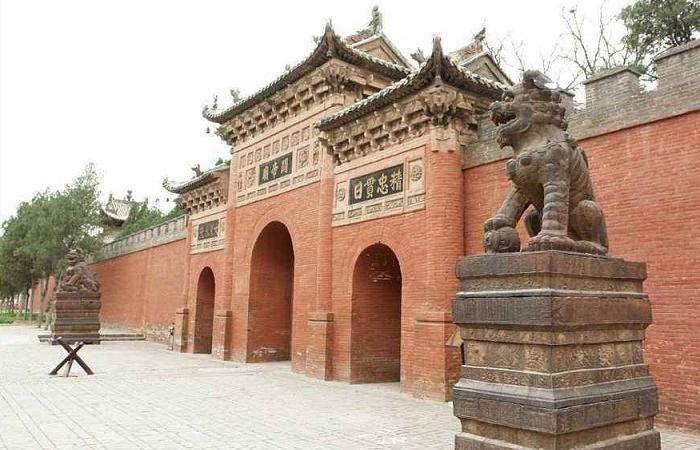 解州关帝庙 中国规模最大的武庙建筑群