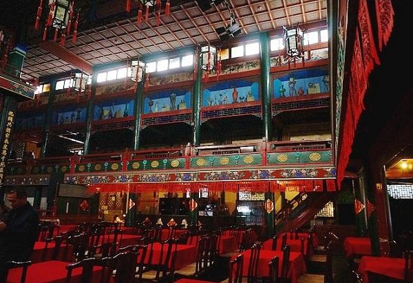 虎坊桥湖广会馆戏院