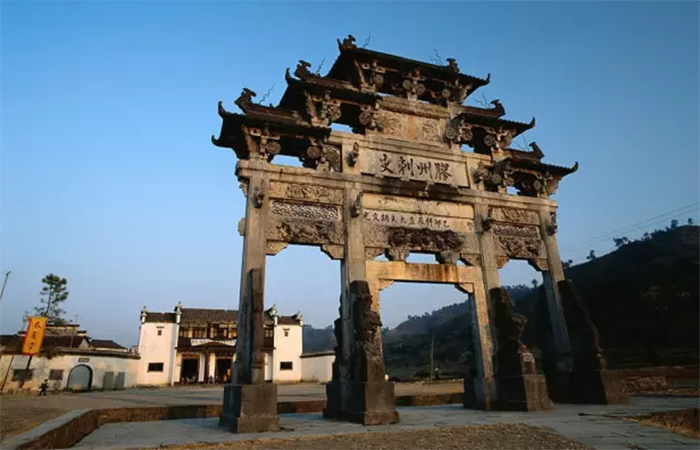 徽州古牌坊的历史与典型代表