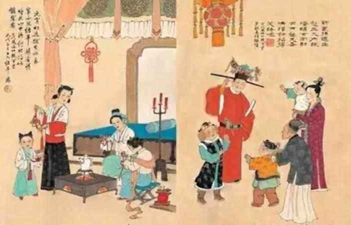 唐宋明清时期的人,是如何过年的?