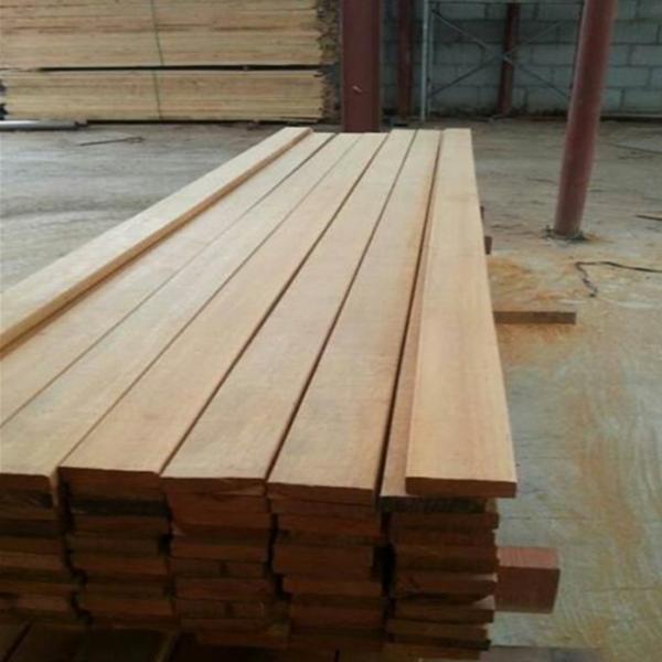 菠萝格黄巴劳木 巴劳木地板 进口黄巴劳加工定做(元/立方米)-- 上海垒通实业有限公司