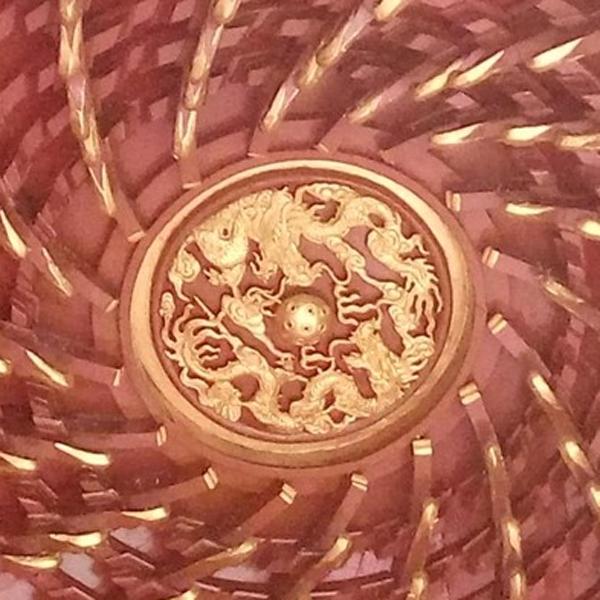 藻井斗拱定制_敦煌藻井价格_藻井天棚制作