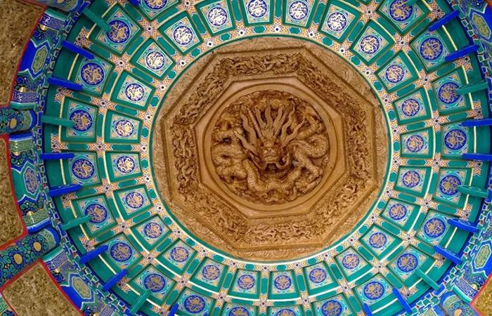 中国古建筑室内结构:墙面、地面和顶面的装饰