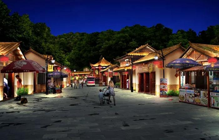 四大主题旅游小镇,夜景照明规划如何打造?