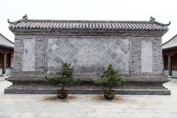 砖雕影壁墙
