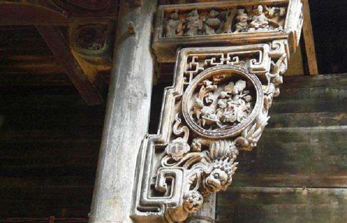 中国古代建筑木构件——牛腿