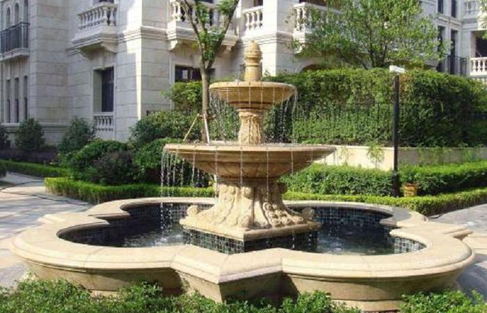 浅谈石雕喷泉的用途与常用材质