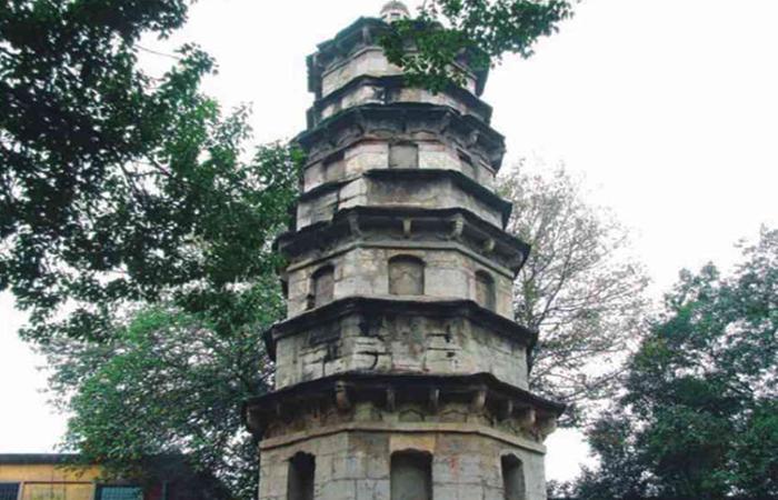 武汉古建筑无影塔——千年古塔之谜