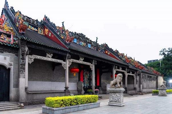 中国古建筑·陈家祠