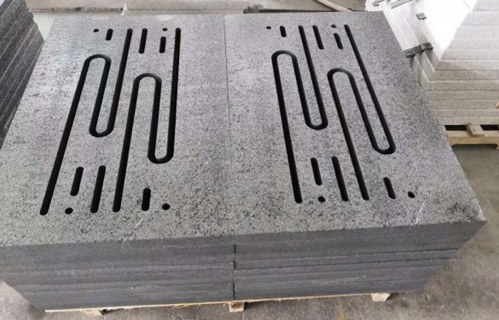 儒风石业--雕刻机加工透水石