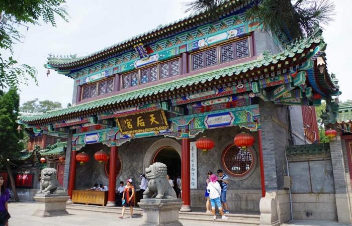青岛现存最古老的明代古建筑群——天后宫