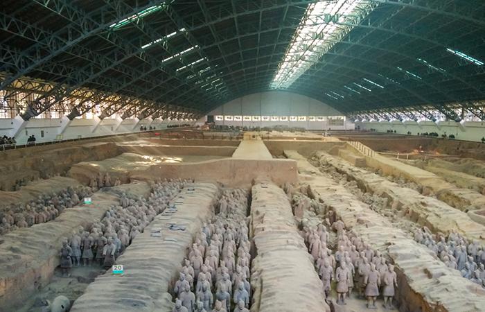 秦始皇陵——中国第一座皇家陵园