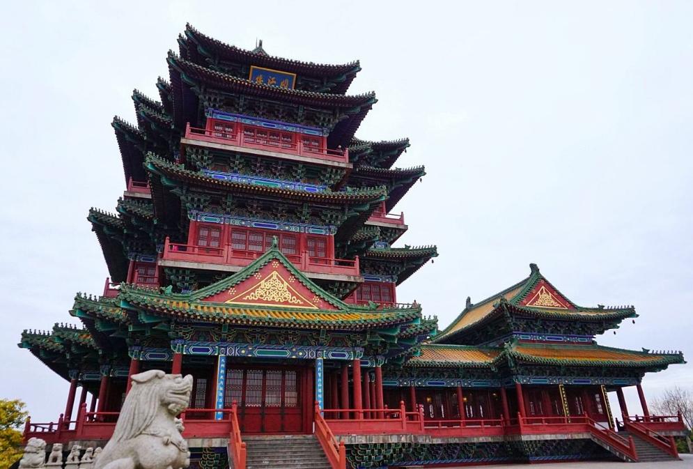 南京古建筑阅江楼