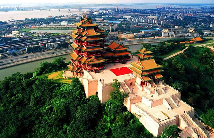 南京古建筑阅江楼与明朝开国皇帝朱元璋的故事