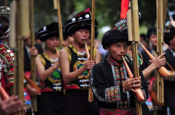 苗族传统节日·芦笙节