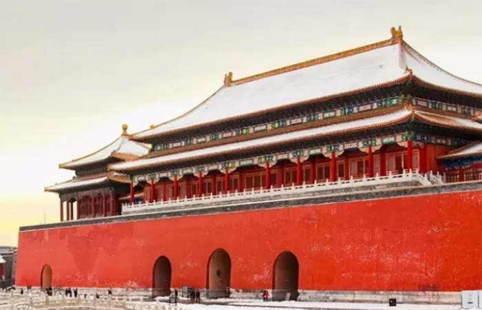 中國古建筑故宮設計的始末