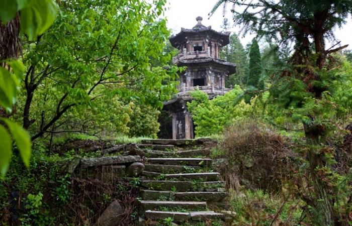 福建古建筑无尘塔——省内最古老的空心石塔