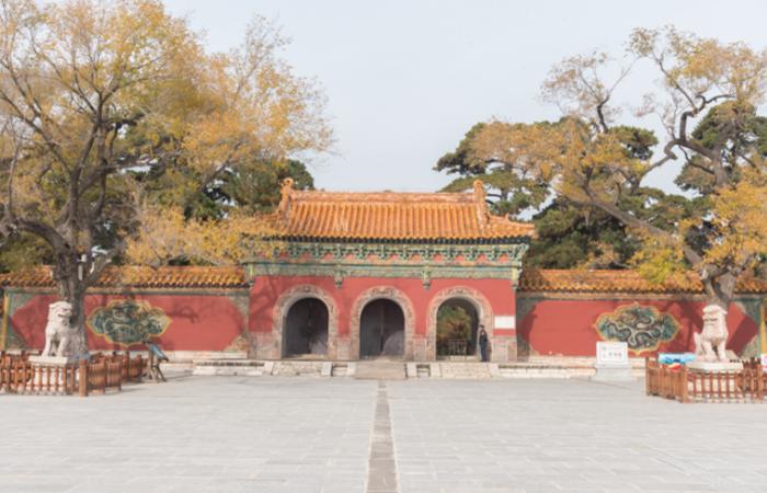 遼寧古建筑清福陵——清代第一帝陵