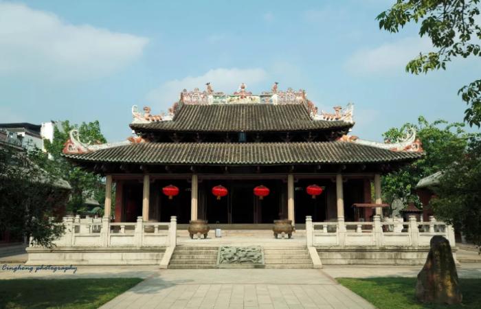 德庆文庙大成殿——广东古老的寺院建筑