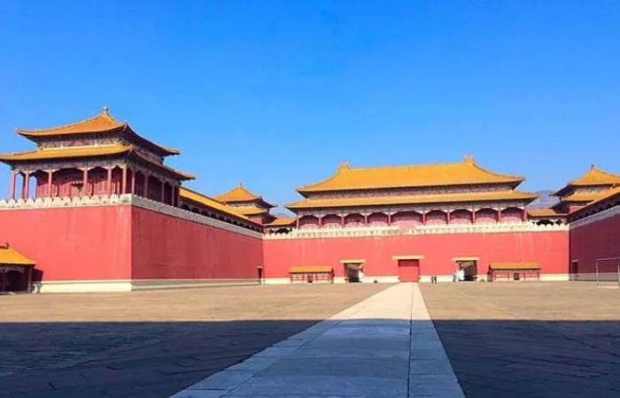 中国宫殿建筑的规划与布局