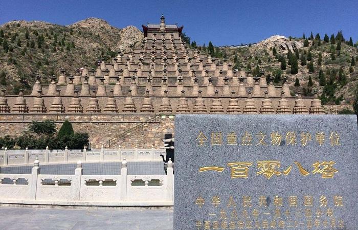 中国第三大古塔群——青铜峡108塔