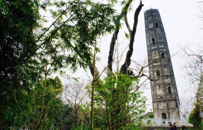 """""""上海比萨斜塔""""——千年宝塔将迎来修缮宝塔"""